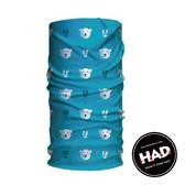 【德國 HAD】兒童 排汗透氣頭巾 HA120-0267 百變頭巾 魔術頭巾 自行車頭巾 面罩 脖套 圍巾