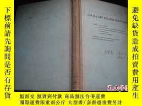 二手書博民逛書店CANALS罕見AND RELATED STRUCTURES C