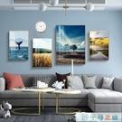 日系風格客廳裝飾畫組合現代簡約沙發背景墻畫大氣掛畫輕奢壁畫【千尋之旅】