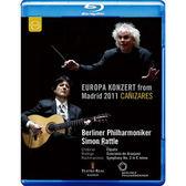 2011歐洲音樂會 在西班牙馬德里 藍光BD Europa Konzert 2011 from Madrid (音樂影片購)