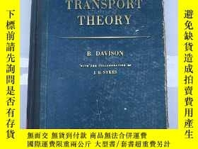 二手書博民逛書店neutron罕見transport theory (H1497
