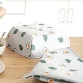 菜飯罩 防蟲防蠅  菜罩 飯菜蓋 防塵罩 飯菜罩 保溫罩 撞色保溫飯菜罩(大號) ✭慢思行✭【Q310】