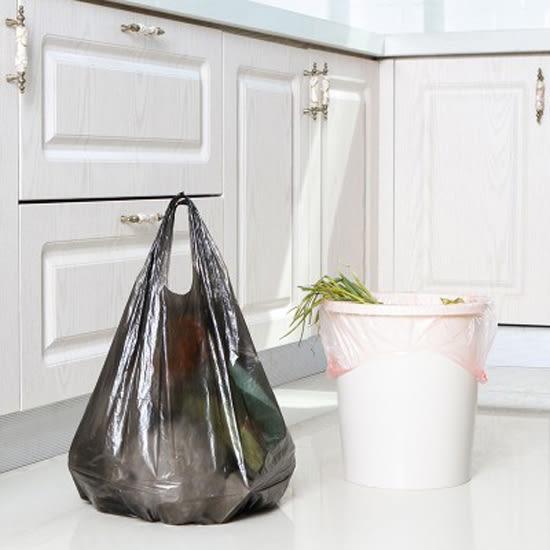 ◄ 生活家精品 ►【N365】加厚手提式垃圾袋 廚房 全新料 家用 點斷式 塑膠袋 衛生 方便