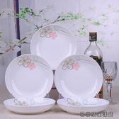 5只裝家用陶瓷盤子景德鎮圓盤 易樂購生活館
