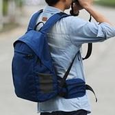 相機後背包-輕量化後開防盜設計雙肩攝影包5色71a13[時尚巴黎]