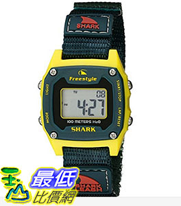 [106美國直購] Freestyle 手錶 Unisex 10022924 B00TYE8NR0 Shark Classic Mini Digital Display Japanese Quartz Black Watch