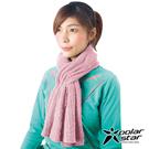 【PolarStar】保暖圍巾『粉紅』P16625 圍脖 披肩 兩用 針織圍巾 素色圍巾 保暖防風