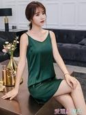 襯裙長吊帶裙內搭襯裙打底真絲背心女外穿緞面中長款絲綢寬鬆大碼性感 夏季新品