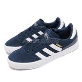 【海外限定】adidas 休閒鞋 Busenitz Vulc II 深藍 麂皮 金標 男鞋 愛迪達【ACS】 FV5864