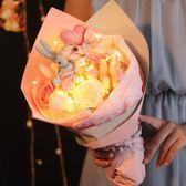 520生日禮物女生創意浪漫送女朋友閨蜜diy韓國香皂花束禮盒走心的【免運直出】