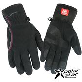 PolarStar 女防風保暖手套『黑』P16616 防風手套│保暖手套│防滑手套│機車手套
