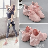 運動鞋女2020夏季新款韓版ulzzang透氣百搭原宿健身網面跑步鞋子