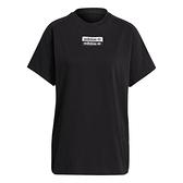 【陸壹捌折後$1580】Adidas R.Y.V. 女裝 短袖 T恤 純棉 寬鬆 黑 H06772