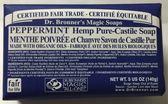 (售完補貨中)  Dr.Bronner's 布朗博士 洗卸合一保濕潔顏皂-薄荷 (140g) 網路特惠$250