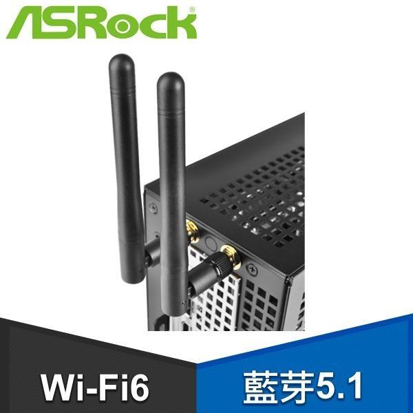 【南紡購物中心】ASRock 華擎 DeskMini WIFI6+藍芽5.1(intel AX200)無線模組