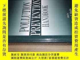二手書博民逛書店POLLUTION罕見PREVENTION HANDBOOKY1