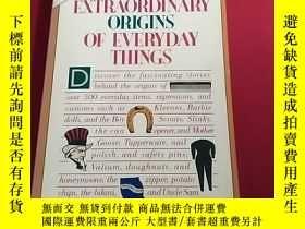 二手書博民逛書店PANATI S罕見EXTRAORDINARY ORIGINS