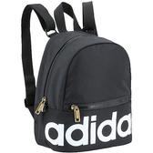 Adidas- 愛迪達男女LINEAR迷你背包(黑色)