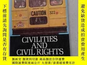 二手書博民逛書店CIVILITIES罕見AND CIVIL RIGHTS Greensboro , North Carolina