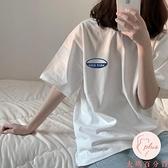 短袖T恤女上衣大碼夏季韓版寬松半袖上衣體桖【大碼百分百】