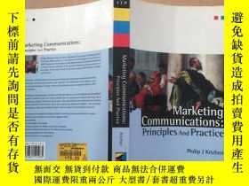 二手書博民逛書店marketing罕見communications princi