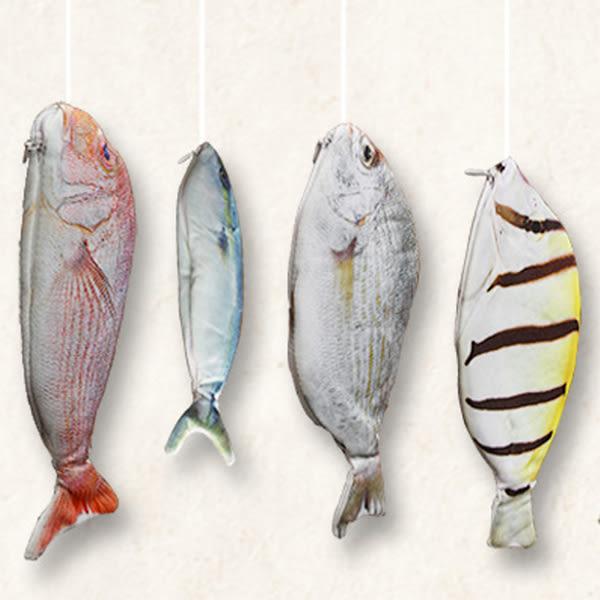 【BlueCat】魚出沒 韓流海底世界仿真創意魚筆袋