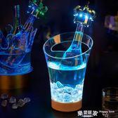 酒吧led香檳桶KTV亞克力七彩發光冰桶       SQ5516『樂愛居家館』