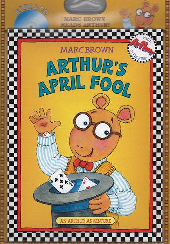 【麥克書店】ARTHUR'S APRIL FOOL/英文故事繪本+CD
