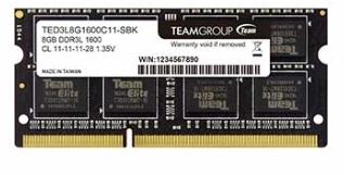 【超人百貨X】TEAM  SO-D3L 8GB 1600低電壓 1.35V 筆電記憶體