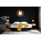 [紅蘋果傢俱] 現代 簡約 輕奢風 SK56床 床架 雙人床 布藝 皮藝 婚床 臥室 房間 主臥