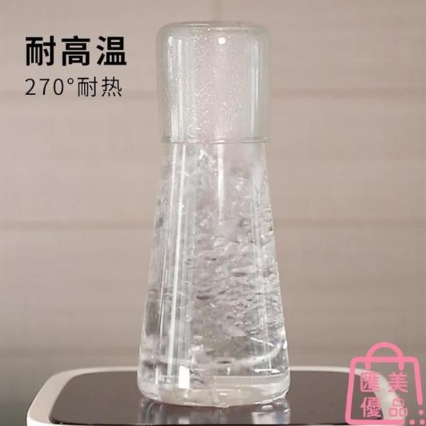 北歐一人飲冷水壺涼白開果汁杯玻璃大容量耐高溫涼水壺【匯美優品】