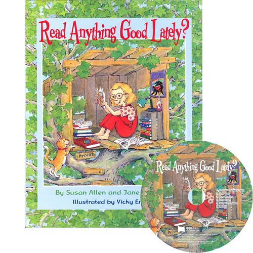【麥克書店】READ ANYTHING GOOD LATELY /英文繪本附CD 《主題: 字母》