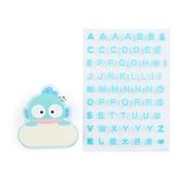 小禮堂 人魚漢頓 造型壓克力名牌徽章 附貼紙 名牌胸章 姓名牌 胸牌 (藍 2021角色大賞) 4550337-61168