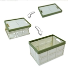 車載折疊收納箱塑料床底收納箱有蓋家用整理箱大號收納盒整理箱子