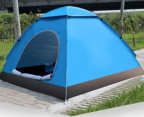 帳篷 帳篷戶外3-4人全自動野外防雨露營 2人雙人野營加厚家用室內兒童jy【快速出貨八折搶購】