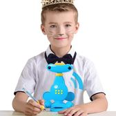 防智慧語音坐姿矯正器學生兒童寫字糾正姿勢視力保護器 igo