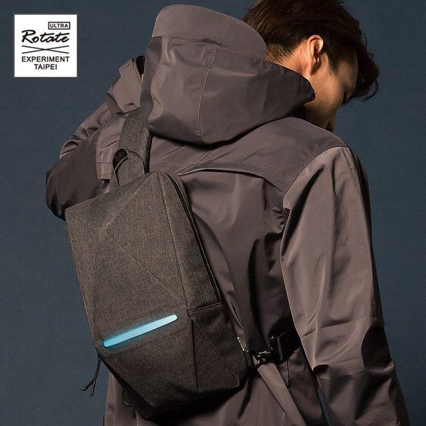 ROTATE 立體幾何胸包腰包 原創 防水發光 反光安全多功能 GEOMETRY 側背包