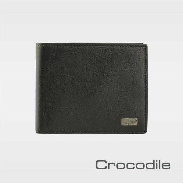 【Crocodile】Cortina 系列短夾 抽取式子夾款 0103-07202