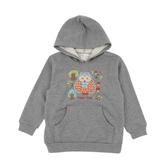 【愛的世界】純棉貓頭鷹連帽長袖上衣/6~8歲-台灣製-  ★秋冬上著