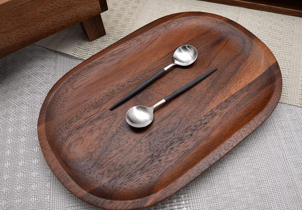 葡萄牙 Cutipol GOA系列12cm咖啡匙 (黑銀)
