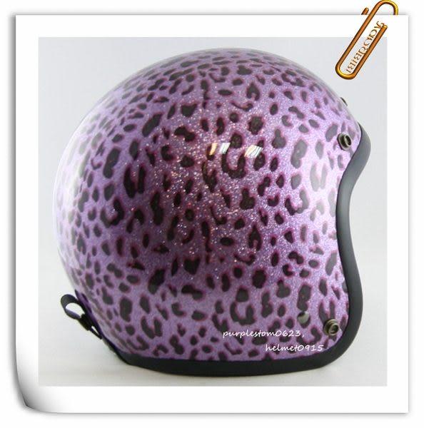 林森●金蔥復古帽,半罩,3/4帽,812,礦石豹紋,紫~