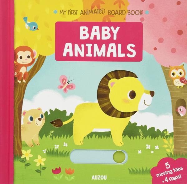 My First Animated Board Book:Baby Animals 我的第一本推拉小書:動物寶寶篇