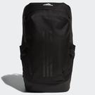 ADIDAS SYSTEM 後背包 專業 訓練 加厚筆電夾層 背面網布透氣 減壓背帶 黑【運動世界】FK2243