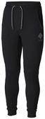 【Columbia】男款UPF50棉質長褲-黑