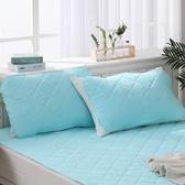 LAMINA 天絲;環保紗;兩面可使用;天絲涼感環保紗枕用保潔墊-2入