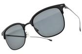 HUGO BOSS太陽眼鏡 HB1028FS 807IR (黑-灰鏡片) 率性眉框款 # 金橘眼鏡