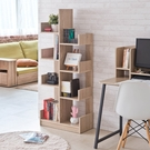 書櫃 收納櫃 置物櫃【收納屋】不規則多功能櫃-淺橡木色&DIY組合傢俱