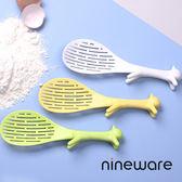 韓國nineware 松鼠洗米漏勺/飯匙2入組-共4色黃色