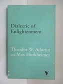 【書寶二手書T4/原文小說_ALQ】Dialectic of Enlightenment_Theodor W. Horkheimer Max; Adorno
