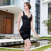 【曼黛瑪璉】美型顯瘦 中腰中管束褲S-XL(黑)(未滿2件恕無法出貨,退貨需整筆退)